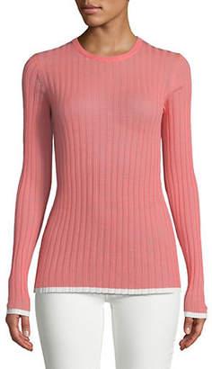 Diane von Furstenberg Wool-Blend Fine Gauge Sweater