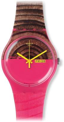 Swatch Women's SUOP703 Silicone Watch
