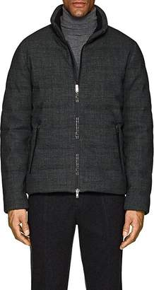 D'Avenza Men's Down Puffer Coat