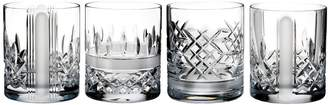 Waterford Lismore Revolution Set of 4 Lead Crystal Tumblers