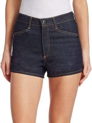 Rag & Bone Rag& Bone Rag& Bone Women's Ellie Denim Shorts - Indigo - Size 25 (2)