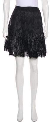 Alaia Embellished Knee-Length Skirt