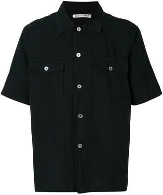 Our Legacy chamois short sleeve shirt