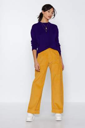 Nasty Gal Do We Have an Ac-cord Wide-Leg Pants