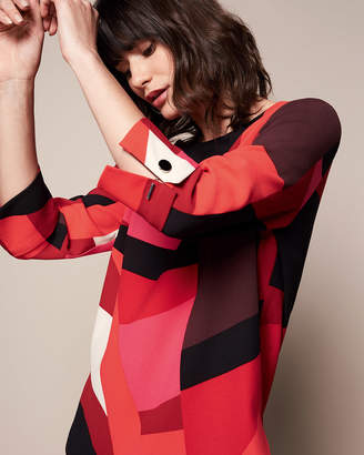 Phase Eight Xanthe Abstract Print Blouse