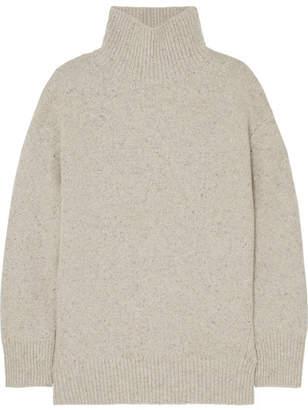 Vince Oversized Cashmere Turtleneck Sweater - Cream