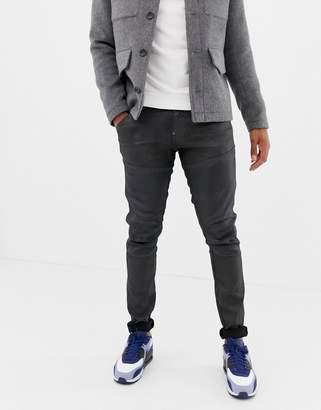 G Star G-Star Elwood skinny fit stretch denim jean in black