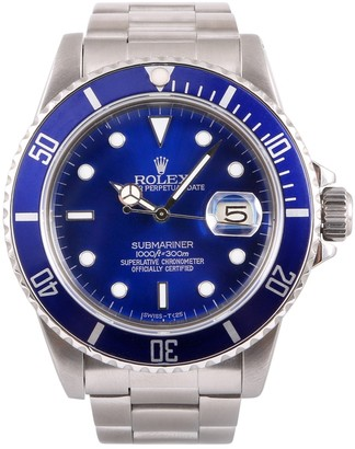 Rolex Vintage Submariner Blue Steel Watches