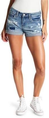 Blank NYC BLANKNYC Distressed Cuffed Denim Shorts