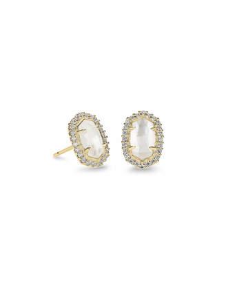 Kendra Scott Cade Stud Earrings in Gold