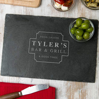 Dust and Things His Bar And Grill Personalized Serving Board