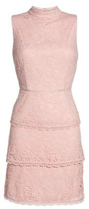 Adrianna Papell Sophia Tiered Lace Dress