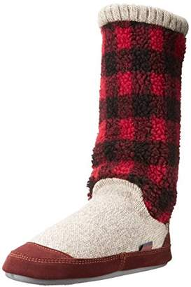 Acorn Women's Slouch Boots Slipper,Small (5-6) B US
