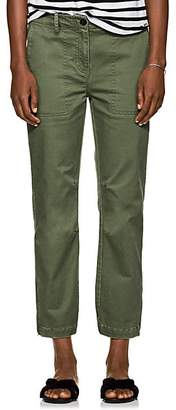 Derek Lam 10 Crosby Women's Cotton Utility Pants - Green