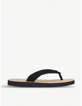 UGG Tawney leather flip-flops
