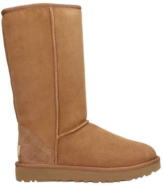 Free Express Shipping at Italist · UGG Classic Tall High Ankle Boots
