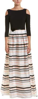 Theia Silk-Blend Gown