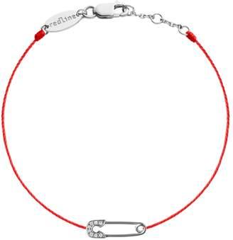 Redline Ange Red Bracelet - White Gold