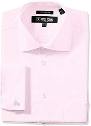 Stacy Adams Men's Adjustable Collar Dress Shirt
