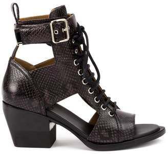 Chloé cutout ankle boots