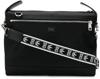 Dolce & Gabbana branded strap messenger bag