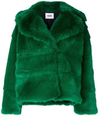 MSGM spread collar jacket