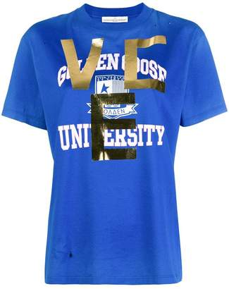 Golden Goose university print T-shirt
