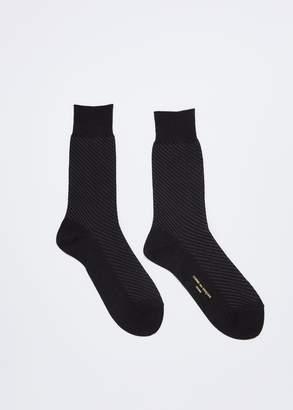 Comme des Garcons Homme Biased Pattern Sock