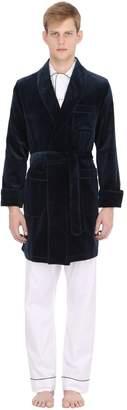 Velvet Dressing Robe