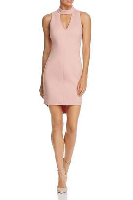 Adelyn Rae Blush Keyhole Dress