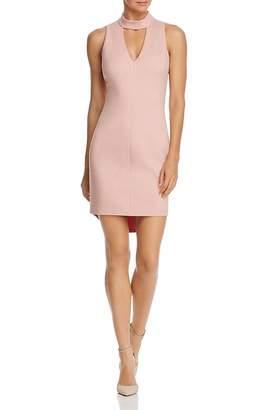 Adelyn Rae Blush Keyhole Dress