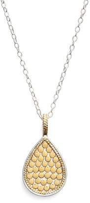 Anna Beck 'Gili' Reversible Teardrop Pendant Necklace