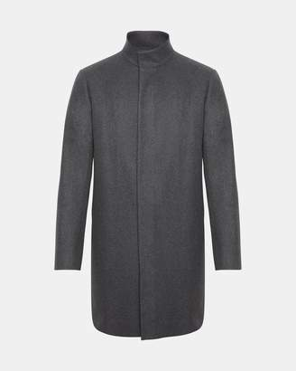 Theory Stretch Melton Belvin Coat