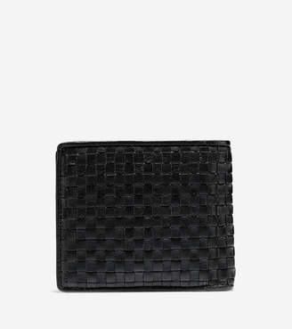 Cole Haan Brayton Weave Bifold Wallet with Coin Pocket