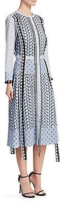 Altuzarra Women's Grenelle Printed A-Line Dress