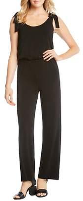 Karen Kane Tie-Shoulder Jumpsuit