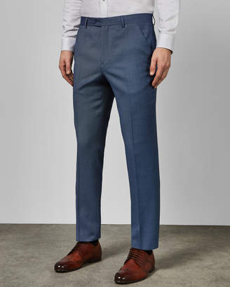 Ted Baker BEKDEBT Debonair birdseye wool suit trousers
