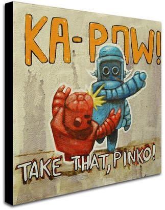 Pinko (ピンコ) - Craig Snodgrass 'Take That Pinko' Canvas Art