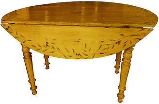 One Kings Lane Vintage French ProvenAal Painted Table - Vaillant & Cie