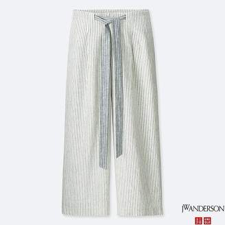 Uniqlo Women's Jwa Wide Cropped Pants