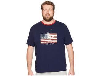 Polo Ralph Lauren Big Tall Jersey Short Sleeve Crew Neck T-Shirt