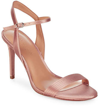 Halston Metallic Sandals