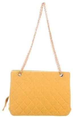 Chanel Tweed Chain Bag