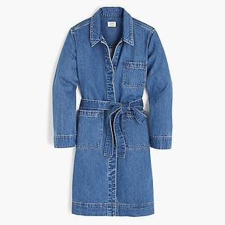 J.Crew Denim trench coat