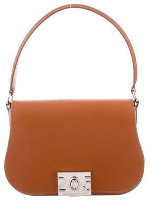 Calvin Klein Leather Satchel Bag
