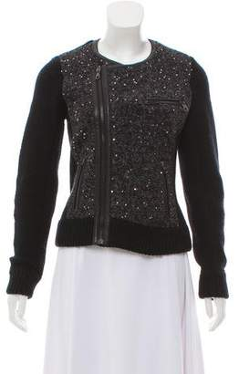 Rag & Bone Sequin Wool Jacket