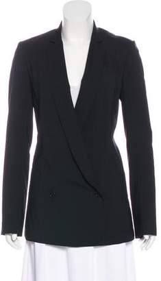 Helmut Lang Wool Double-Breasted Blazer