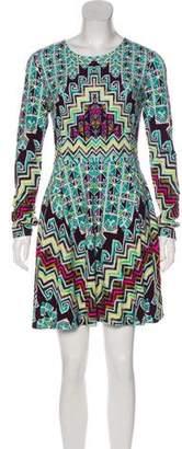 Mara Hoffman Printed Long Sleeve Mini Dress w/ Tags