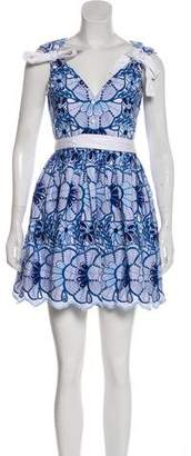 Alexis Embroidered Mini Dress w/ Tags