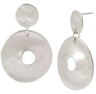 Robert Lee Morris Soho Double Disc Drop Earrings